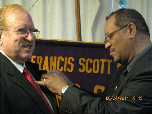 FSK Lions Club 2014-2015 President's Pinning