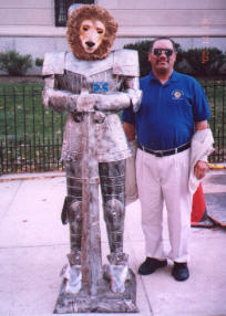 Lion Paul with Sir Lion