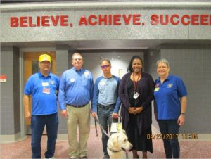 FSK LIONS CLUB with Leader Dog image