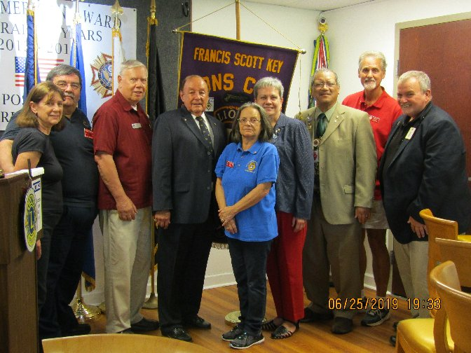 FSK Lions Club Officers 2019-2020 Image.